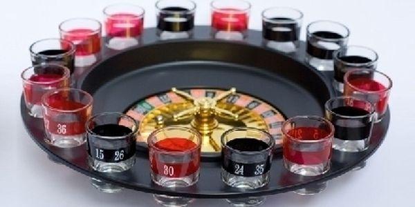 Panáková ruleta za 269 Kč! Roztočte s přáteli to lépe než v kasínu !