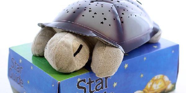 Magická svítící plyšová želva, okouzlí každé dítě. Super tip na dárek pro každě dítě !