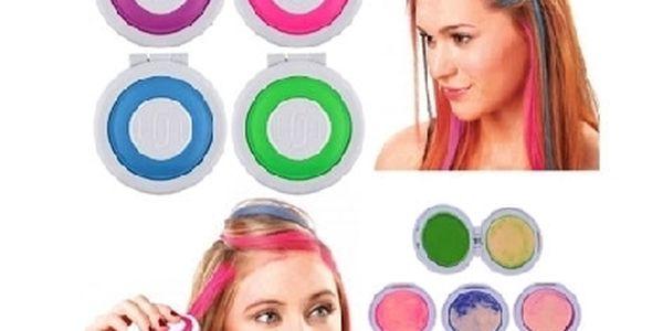Omyvatelné vlasové barvy Hot Huez s rychlým aplikátorem. Buďte každý týden jiná!
