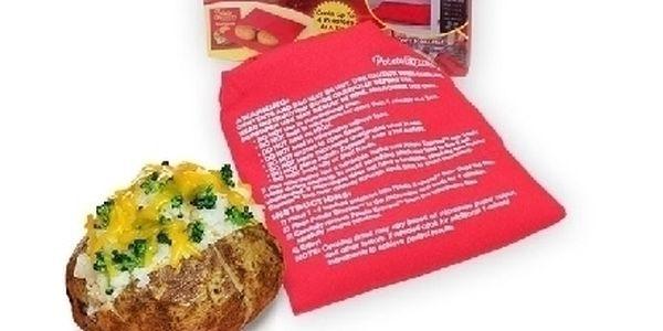 Sáček na rychlé vaření brambor v mikrovlnce za bezkonkurenční cenu 99 Kč !