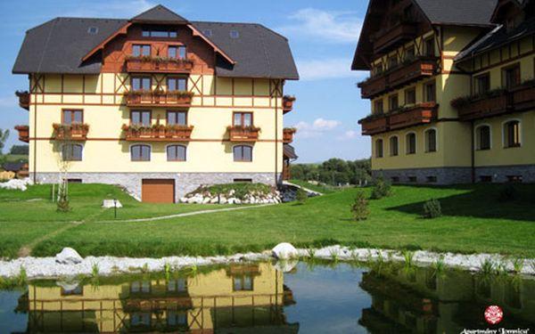 Dovolená v luxusních apartmánech ve Vysokých Tatrách pro CELOU RODINU