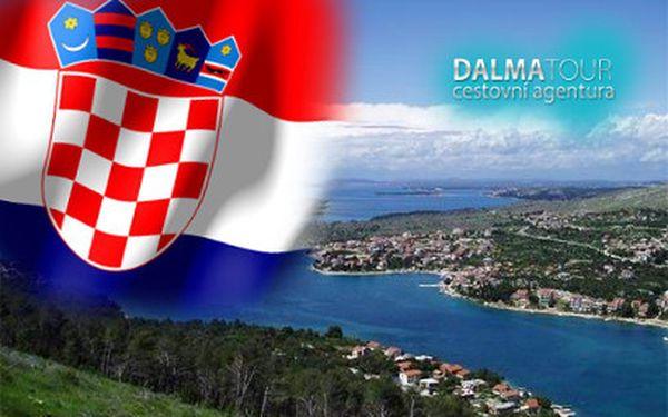 Apartmán pro až 7 osob na týden za 18650 Kč! Klidná chorvatská Grebaštica!