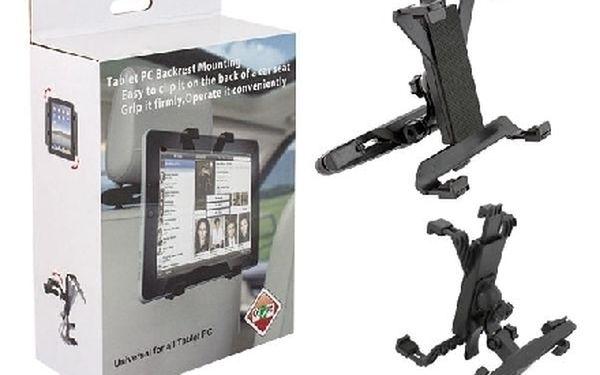 Univerzální držák tabletu na operku auta ktery natočíte, jak potřebujete!