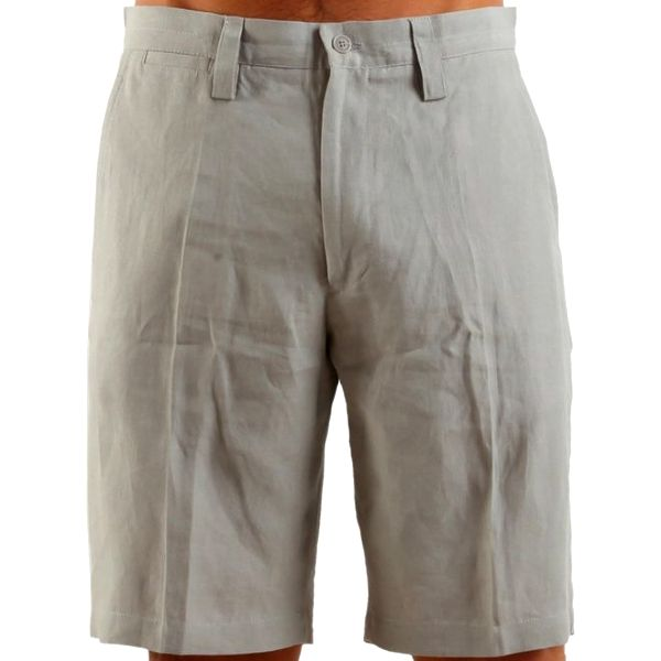 Pánské béžové lněné šortky Calvin Klein