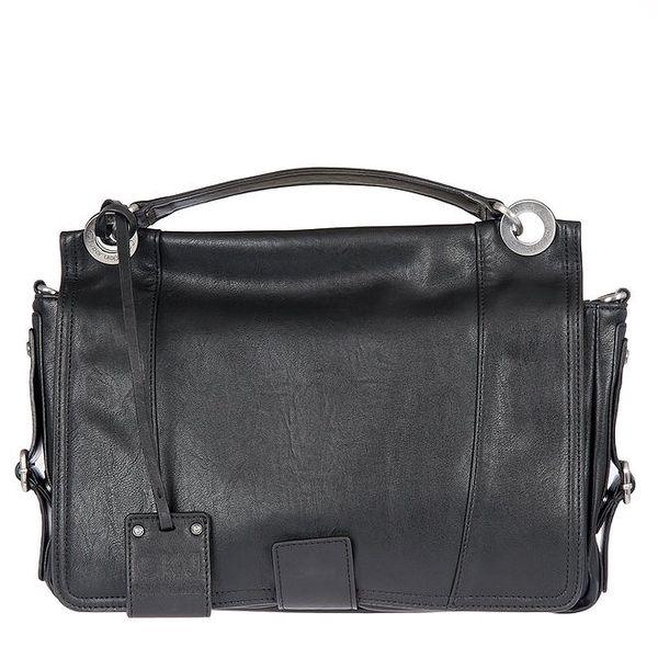Dámská kožená černá kabelka Calvin Klein Jeans