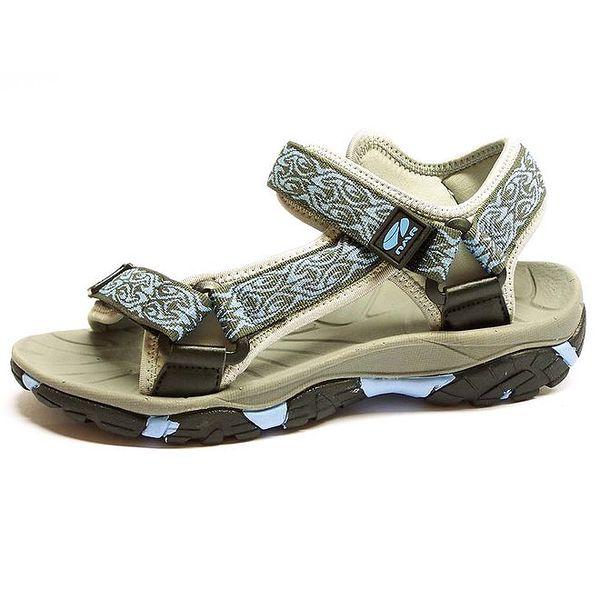 Dámské sandály s modrým prvkem Numero Uno