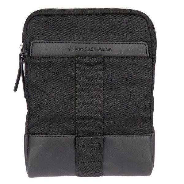 Pánská černá taška přes rameno s nápisy Calvin Klein Jeans