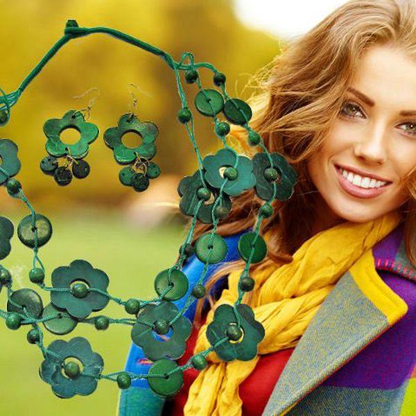 Stylová sada - náhrdelník a náušnice