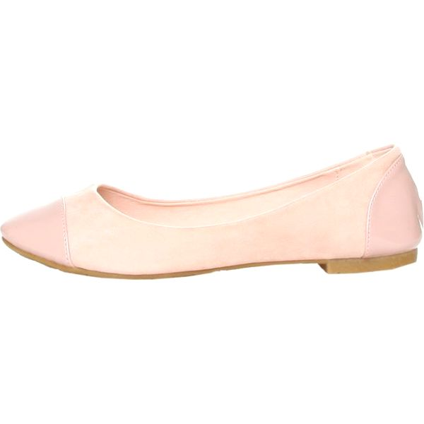 Dámské béžovo-růžové balerínky Ana Lublin