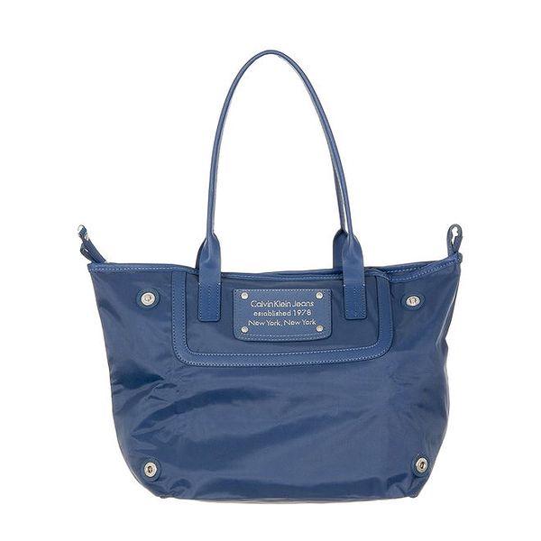 Dámská modrá nákupní taška Calvin Klein Jeans
