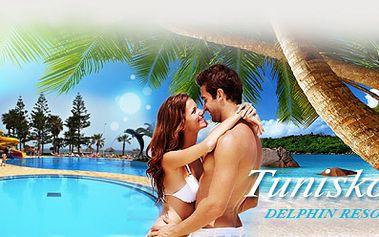 ALL INCLUSIVE 4*Tunisko vČERVENCI jen za 12.990 Kč a ZDARMA parkování u letiště! Letecky do komfortního hotelu Delphin**** stobogány, přímo u písečné pláže!
