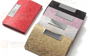 Kovové pouzdro na karty či na vizitky - více barev a poštovné ZDARMA! - 16810627