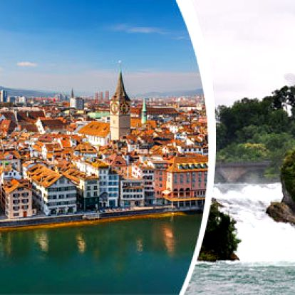 Kostnice, Rýnské vodopády a Curych - TOP místa Německa a Švýcarska
