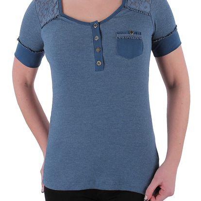 Pohodlné dívčí tričko s krátkými rukávy Rock Angel