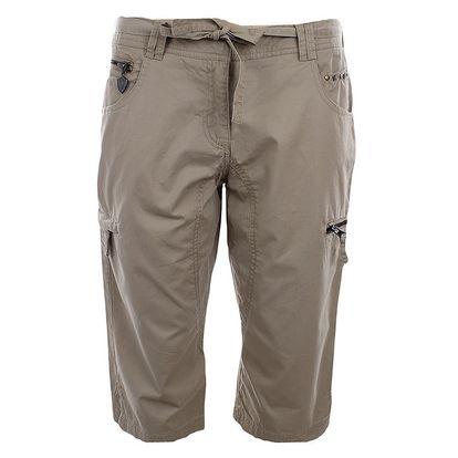 Dámské 3/4 béžové kalhoty s výšivkou a aplikacemi Northland Professional