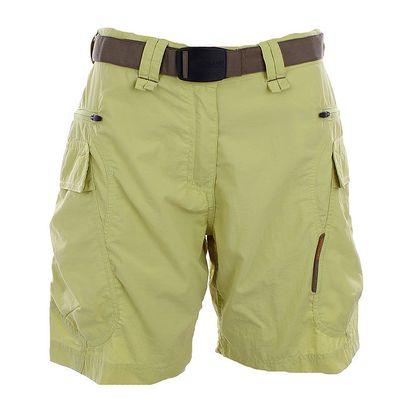 Dámské limetkově žluté šortky s páskem Northland Professional