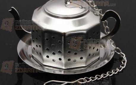 Sítko na čaj ve tvaru konvičky a poštovné ZDARMA! - 16910607