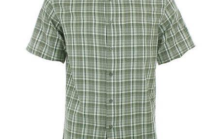 Pánská zeleno-hnědě kostkovaná košile Northland Professional