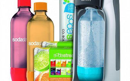 Sodastream JET TITAN/SILVER MEGA PACK