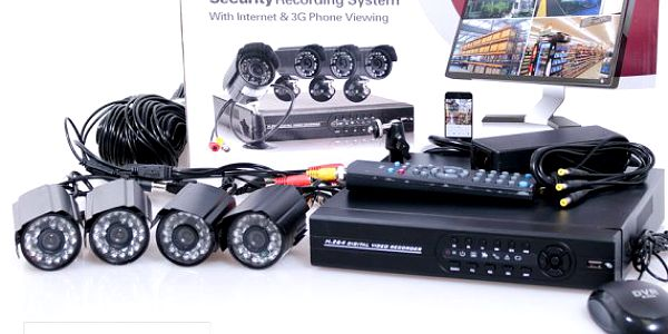 Bezpečnostní kamerový systém CCTV