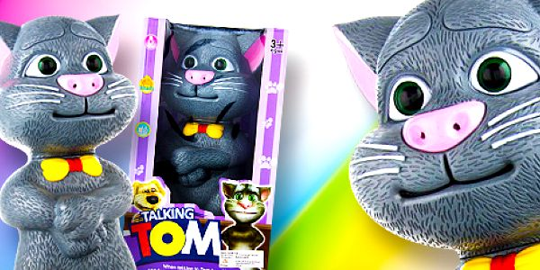 Mluvící kocour Talking Tom: skvělá hračka pro děti.