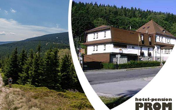3 dny PRO 2 v hotelu Prom*** v Krkonoších jen za 1590 Kč včetně polopenze a bonusů!