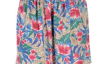 Dámská barevná sukně s tropickými motivy Azura
