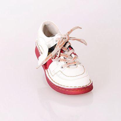 Dámská kožená obuv ROCER BÍLÁ