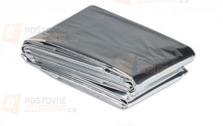 Nouzová deka - tepelná fólie pro přežití a poštovné ZDARMA s dodáním do 3 dnů! - 18810571