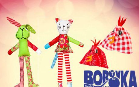 Výrobky zcharitativního Obchůdku Borůvka již od 50 Kč! Pomáhejte s námi!
