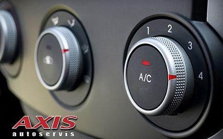 Péče o klimatizaci ve Vašem voze 2v1