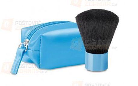 Kosmetický štětec v pouzdře - modrý a poštovné ZDARMA s dodáním do 3 dnů! - 27010570