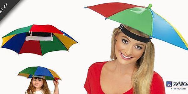 Praktická vychytávka klobouk deštník či slunečník, vhodný na ryby, na párty, pro zahrádkáře, turisty aj. Ideální deštník, který nemusíte držet v ruce. Můžete dělat cokoliv bez obav z deště či slunečních paprsků.