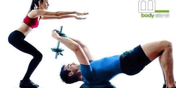 3x 55 minut cvičení na Bosu v centru Body Island v Praze