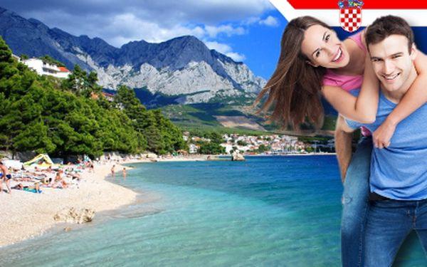 Do Chorvatska až na 10 dní od 990 Kč! Prostorné stany v Bašce Vodě!