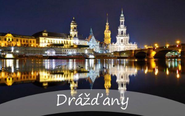Muzejní a galerijní noc v Drážďanech za 470 Kč!