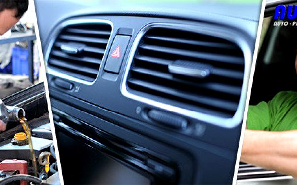 Letní čištění, plnění a dezinfekce klimatizace vozu
