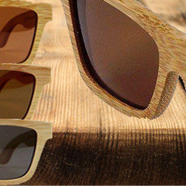 Dřevěné sluneční brýle Dr.Woody