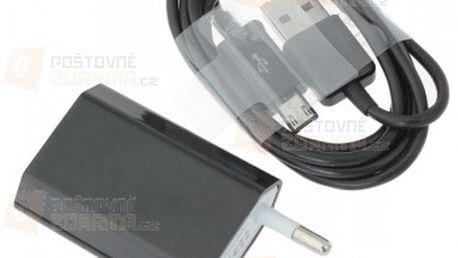 USB datový a nabíjecí kabel s micro USB konektorem - 1 m, 10 barev a poštovné ZDARMA! - 17010612