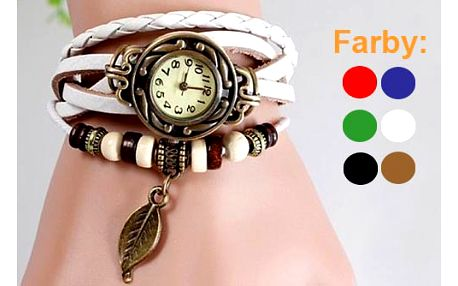 Retro dámske hodinky s nádychom romantiky a country štýlu s poštovným v cene!