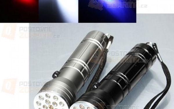 3v1 LED svítilna - 2 barevné provedení a poštovné ZDARMA! - 17310610