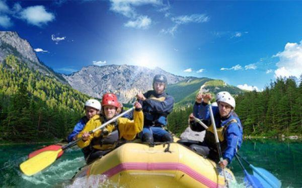 Víkend plný adrenalinu! RAFTING V RAKOUSKU! Svezte se s námi na řekách Salza a Enns! Cena 2999 Kč zahrnuje 2x UBYTOVÁNÍ v kempu, POLOPENZI, zapůjčení raftu vč. ostatního vybavení a instruktora na palubě!