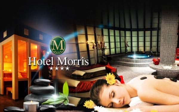 Luxusní pobyt s bohatou POLOPENZÍ a množstvím úžasných WELLNESS procedur jen za 4490 Kč PRO DVA! Vyjeďte si na romantický pobyt plný hýčkání do luxusního prostředí staroanglického hotelu Morris **** s báječnou slevou 59%!