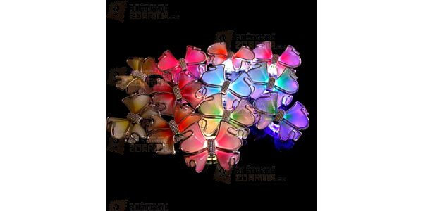 LED mašlička do vlasů a poštovné ZDARMA! - 17505344