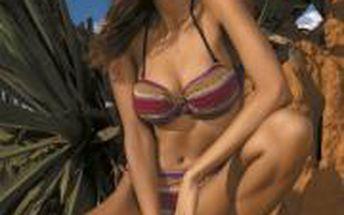 Luxusní dámské dvoudílné plavky She Candy Wild Safari