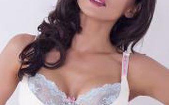 Elegantní, atraktivní a svůdná podprsenka Caprice Candice Semi-Soft - Polovyztužená