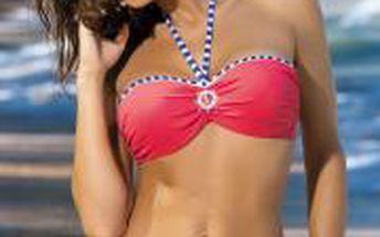 Atraktivní dámské dvoudílné plavky námořnického stylu Marko Rachel Nectarine