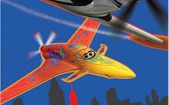 Setino - kvalitní plážová osuška s oblíbenými letadly II - 70x140 cm