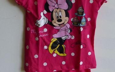 Dívčí pyžamo s motivem Disney Minnie Mouse, vel. 5 - 116 cm