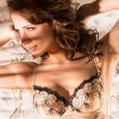 Atraktivní a elegantní kousek z nové kolekce značky Agio Milano, podprsenka Agio Triple Push-Up
